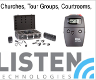 Listen Technologies Hearing Assistance Products