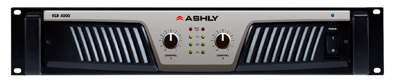 Ashly Audio KLR Series Amplifiers