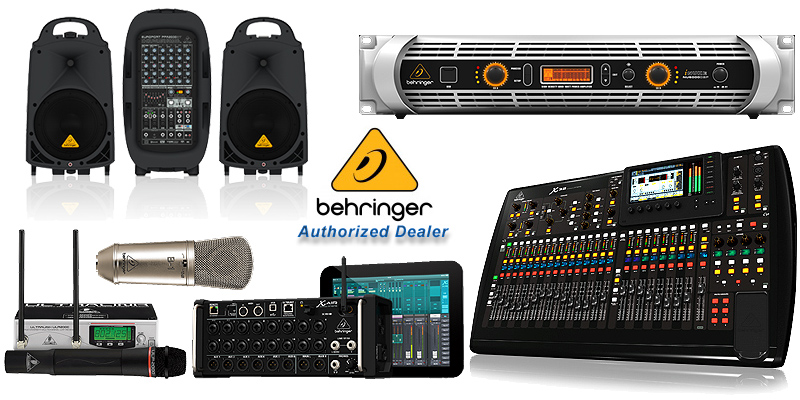 Behringer - Authorized Dealer