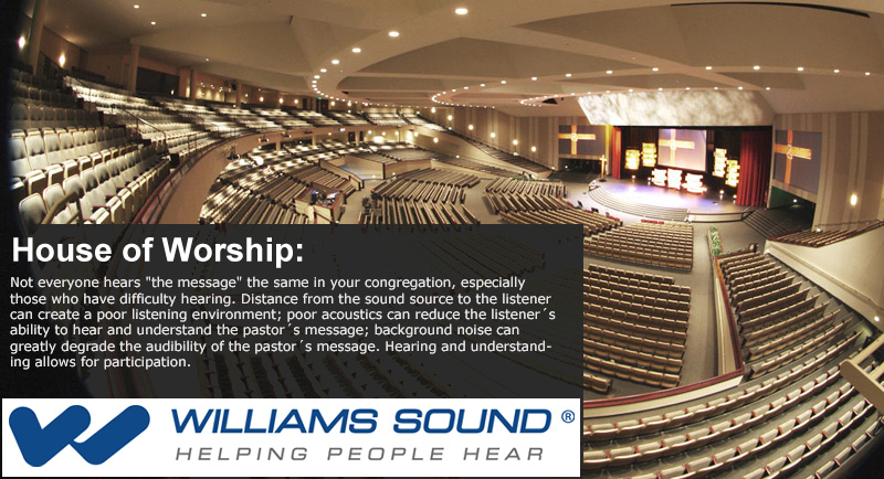 Williams Sound Churches Houses Of Worship Proavmax Com