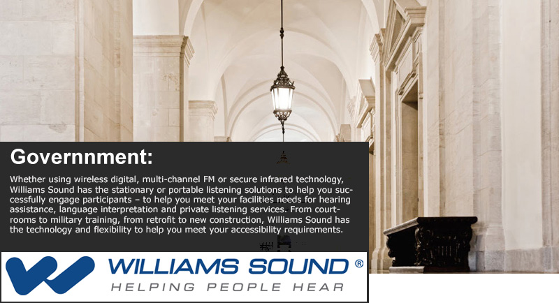 Williams Sound Application - Government