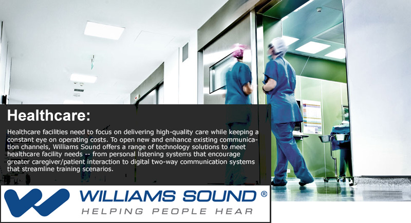Williams Sound Application - Healthcare