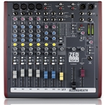 Allen & Heath ZED60-10FX : 10-Channel Mixer with USB, Effects & Faders