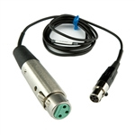 Lectrosonics MC35 : XLR Female to TA5F Line Level Cable