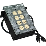 Lightronics AS42DC 4 Channel 1200W per Channel Portable Dimmer