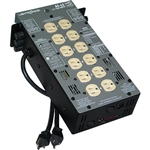 Lightronics AS62D 6 Channel 1200W per Channel Portable Dimmer
