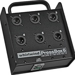 Whirlwind PB06 Press Box - Passive - 1 in x 6 out