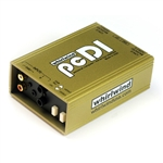 "Whirlwind pcDI Direct Box, Dual with RCA and 1/8"" inputs - Passive"