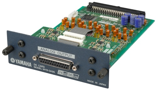yamaha my8 da96 8 channel analog output card at proavmax