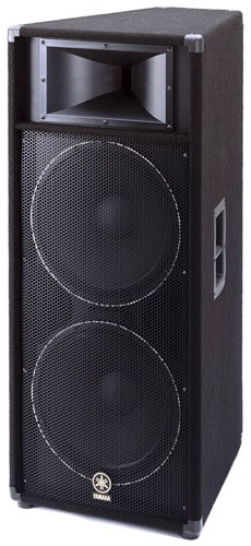 Yamaha s215v dual 15 inch 2 way speaker for Yamaha 15 speakers