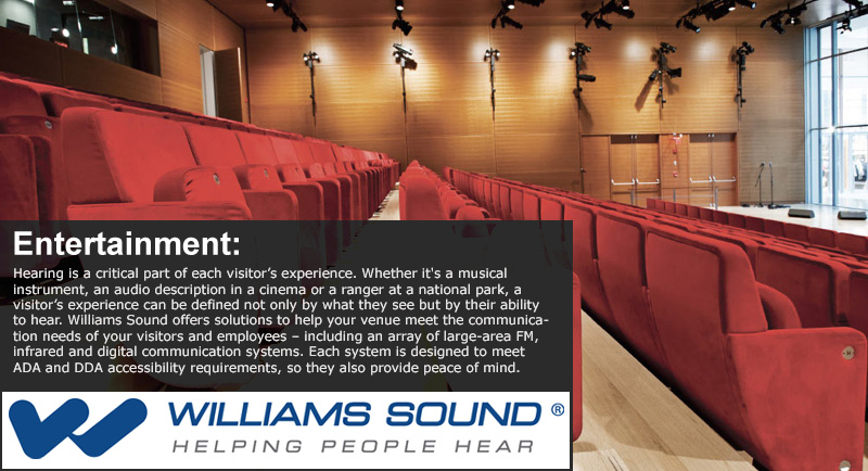 Williams Sound Application - Entertainment