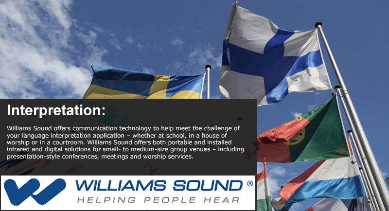 Williams Sound Application - Interpretation