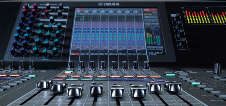 Yamaha CL Series Digital Mixing Consoles