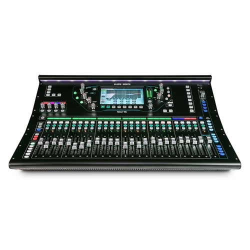 Allen & Heath SQ-6 : 48 Channel 36 Bus 96kHz Digital Mixer