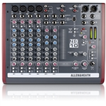 Allen & Heath ZED-10 : 10-Channel Mixer with USB