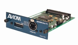 Aviom Aviom16/o-Y1 16 Channel A-Net Card for Yamaha Digital Mixers