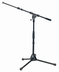 Konig & Meyer 259 Short Tripod with Telescoping Boom - Black