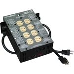 Lightronics AS42D 4 Channel 1200W per Channel Portable Dimmer