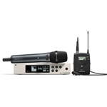 Sennheiser EW 100 G4-ME2/835-S Wireless Combo Microphone System (Omni Lav and e835 HH)