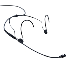Sennheiser HSP4 : Cardioid Headset Microphone with Lemo 3-Pin Connector