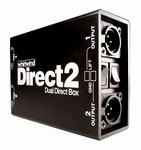 Whirlwind Direct2 : 2 Channel Direct Box - Passive