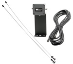 Williams Sound ANT 024 PPA Wall-Mount Dipole Antenna, 75 Ohm