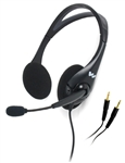 Williams AV MIC 045 - Williams AV Dual-Ear Noise-Cancelling Headset Mic, Cardioid Condenser