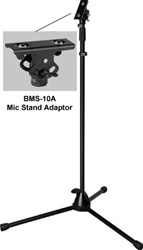 Yamaha M770 Mixer Stand-CA Tripod Mic Stand with BMS-10A Adaptor for MG102C and MG82CX