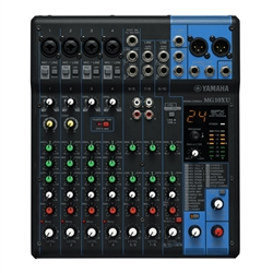 Yamaha MG10XU : 10 Channel Analog Mixing Console