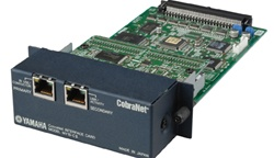 Yamaha MY16-CII Card : CobraNet - 16 In x 16 Out - RJ-45 (x2)