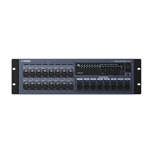 Yamaha Rio1608-D2 Dante I/O Box : 16 in x 8 out